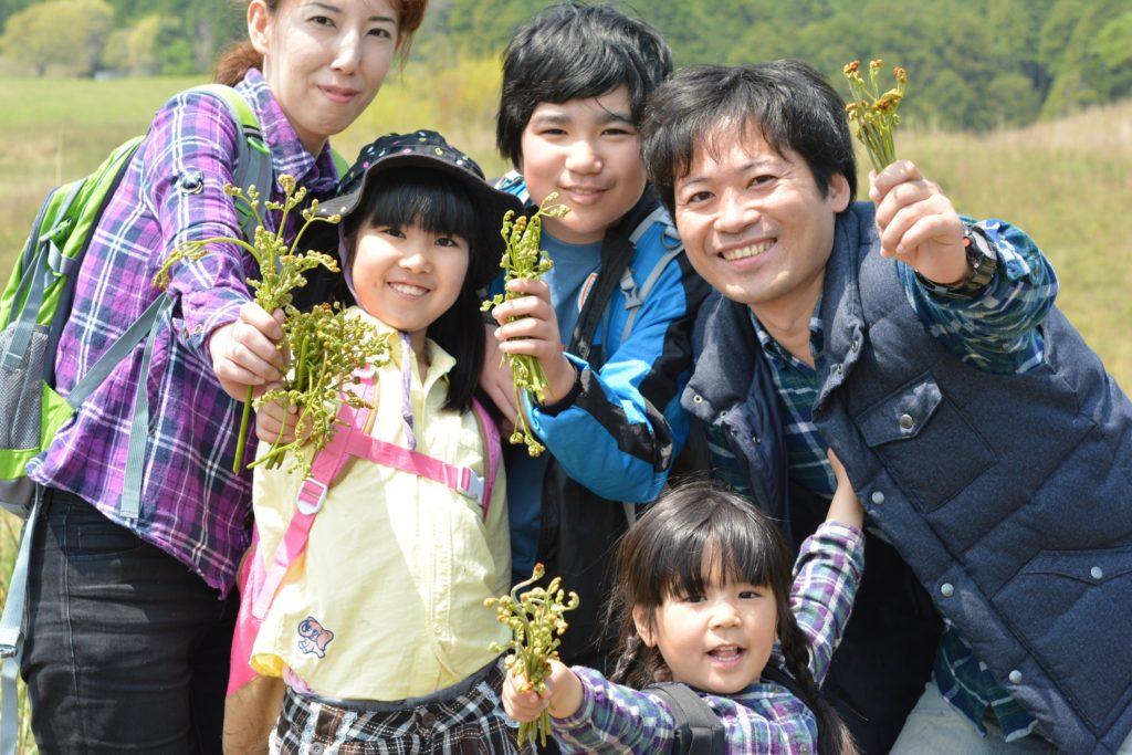 稲取細野高原「春の山菜狩りイベント」