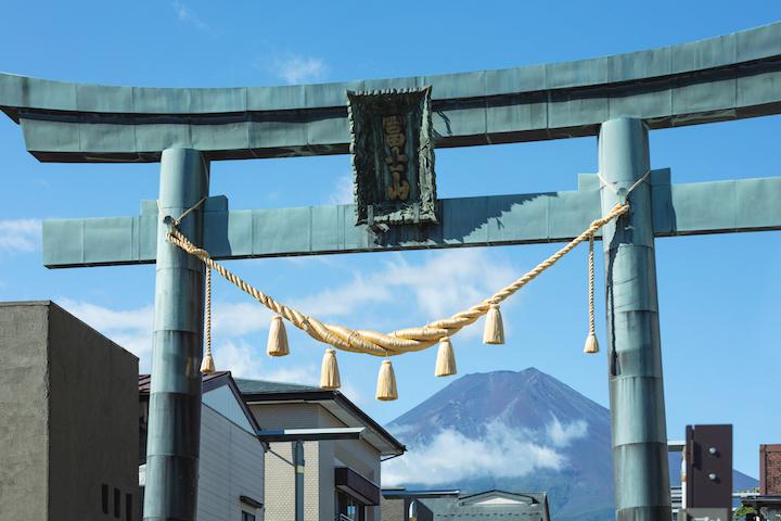 富士山 魂を清める 脱デジタル滞在