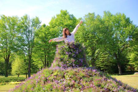 赤城山 裾野の春まつり