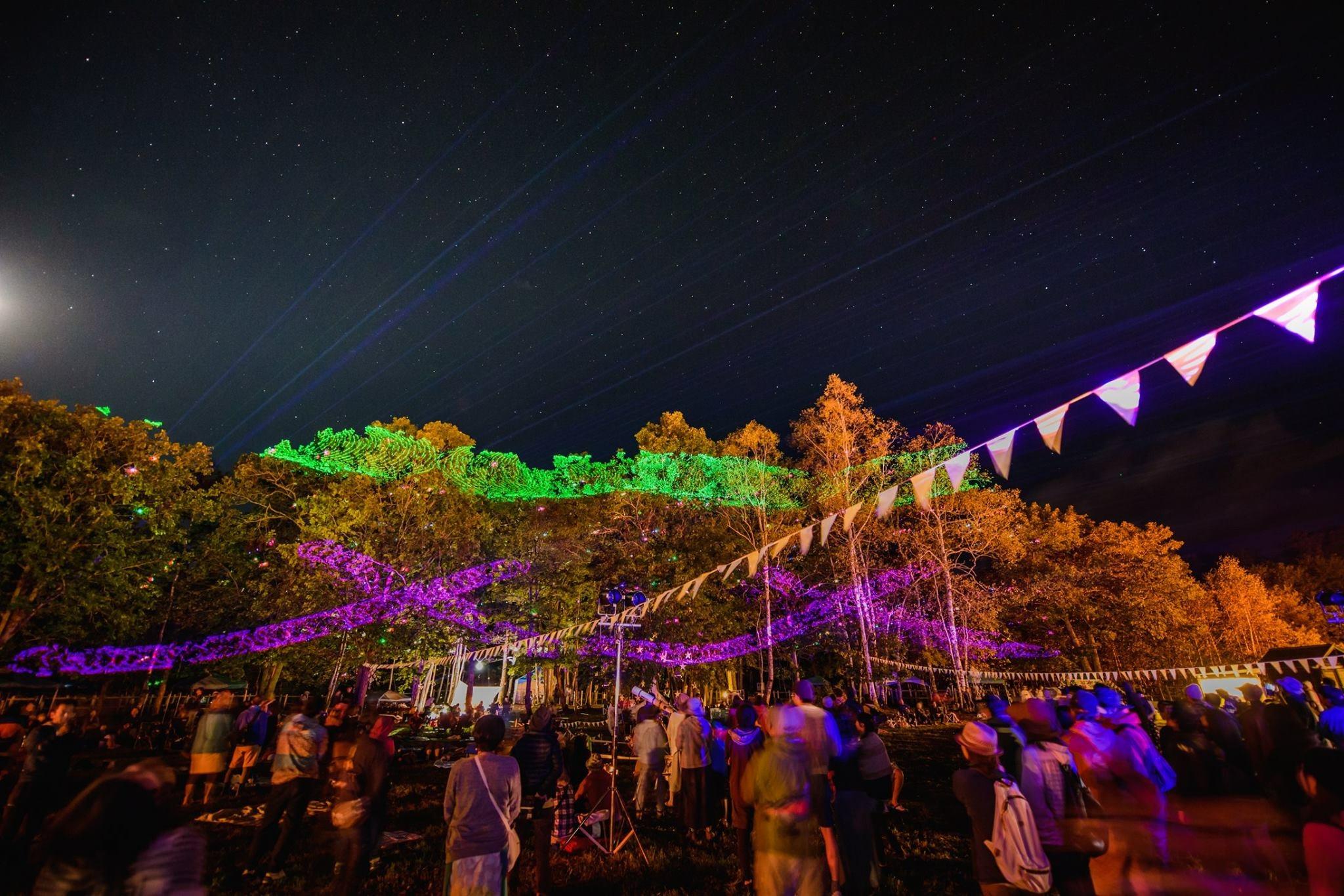 宇宙の森フェス2019・北海道大樹町 カムイコタン公園キャンプ場