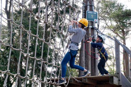 森林活用型アウトドアパーク「冒険の森 in やまぞえ」