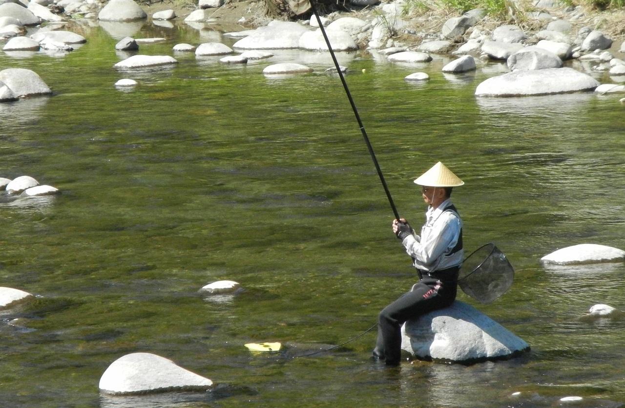 渓流釣り本流