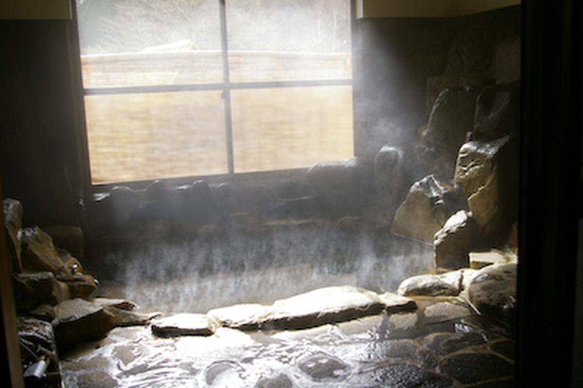 くるみ&温泉 岩風呂 岐阜 温泉施設のあるキャンプ場