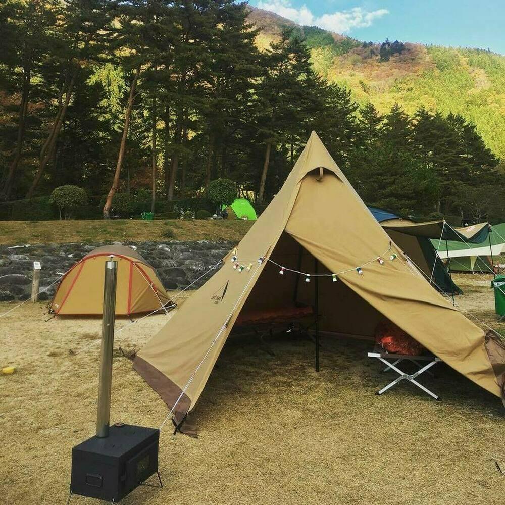 奥飛騨温泉郷オートキャンプ場 岐阜 温泉施設のあるキャンプ場