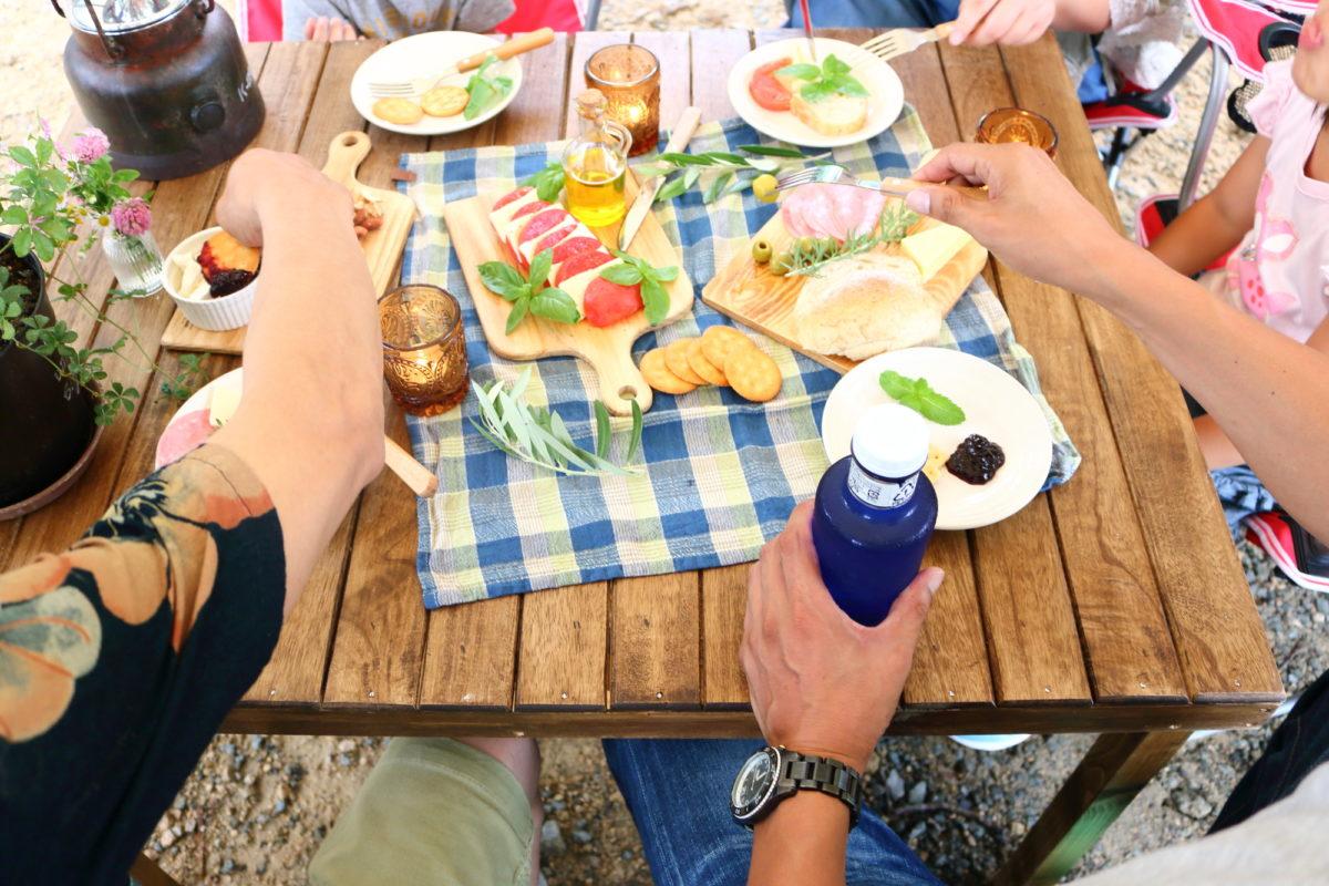 キャンプ ロールトップテーブル