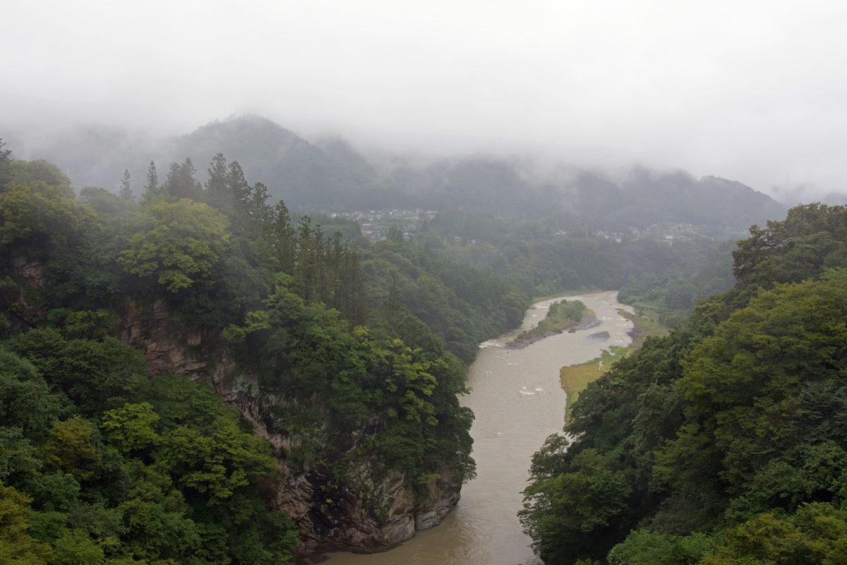 釣れる雨 渓流 雨の渓流釣り