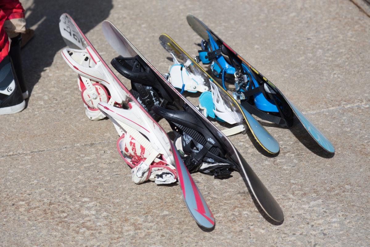 スノーボード メンテナンス