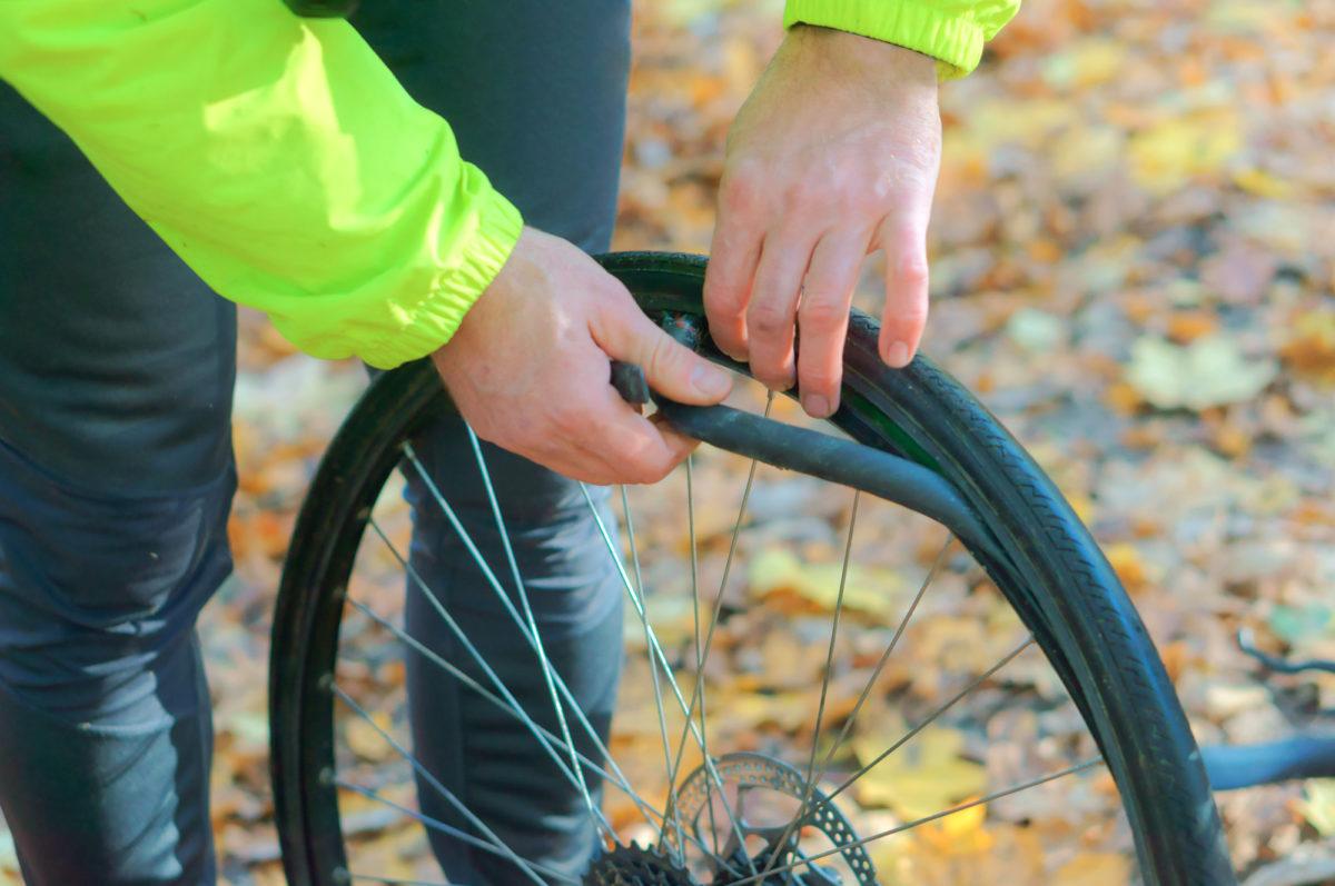 タイヤ 交換 自転車のタイヤ交換