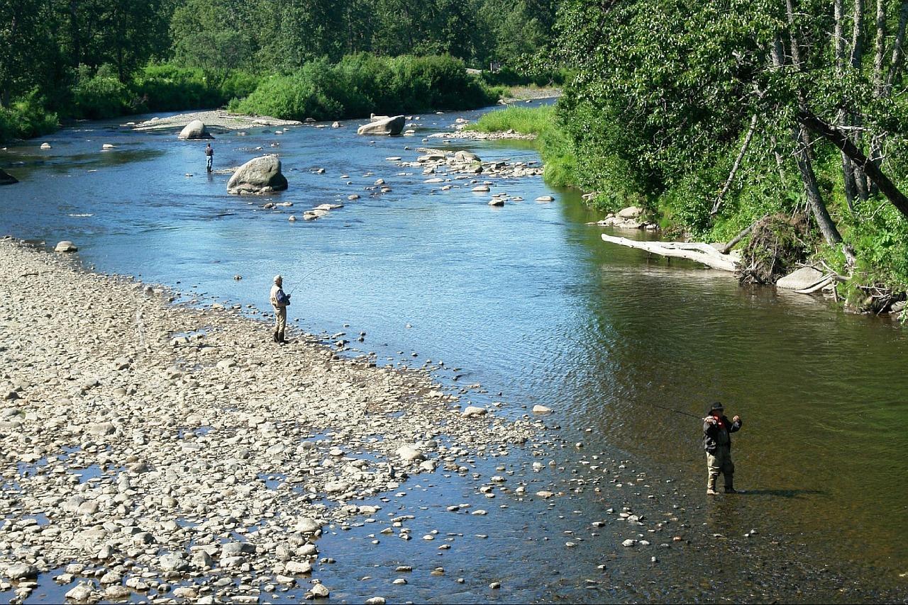 渓流釣り晴れ 渓流釣りで気圧を知る