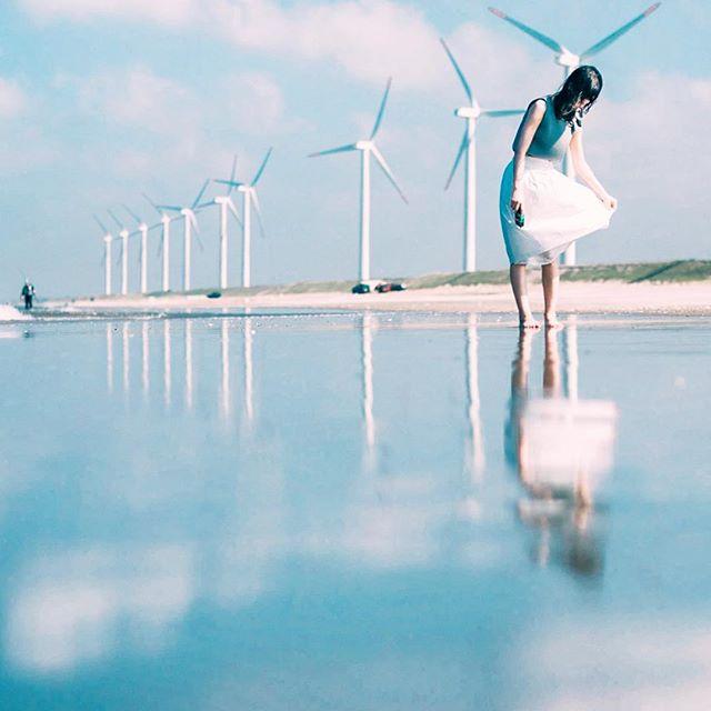 波崎海水浴場 茨城は快水浴場百選の認定ビーチ
