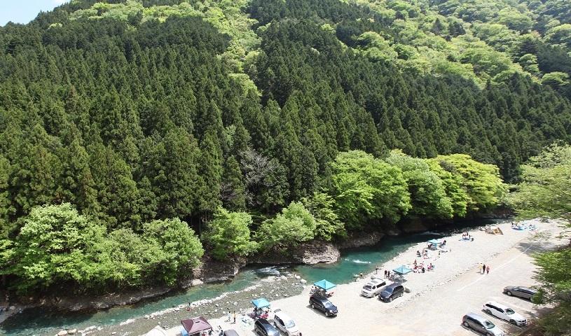 唐沢キャンプ場 神奈川 川遊び スポット