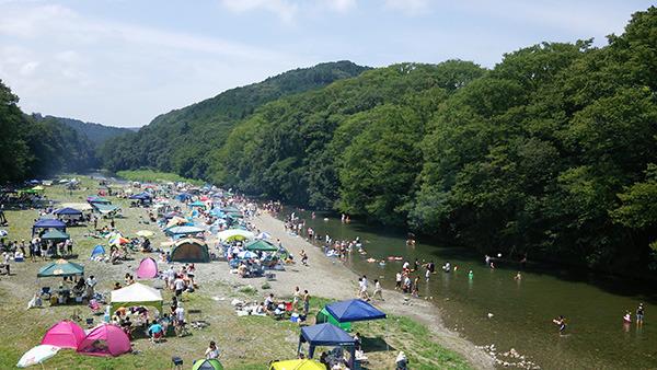 嵐山渓谷バーベキュー場 埼玉 川遊びスポット