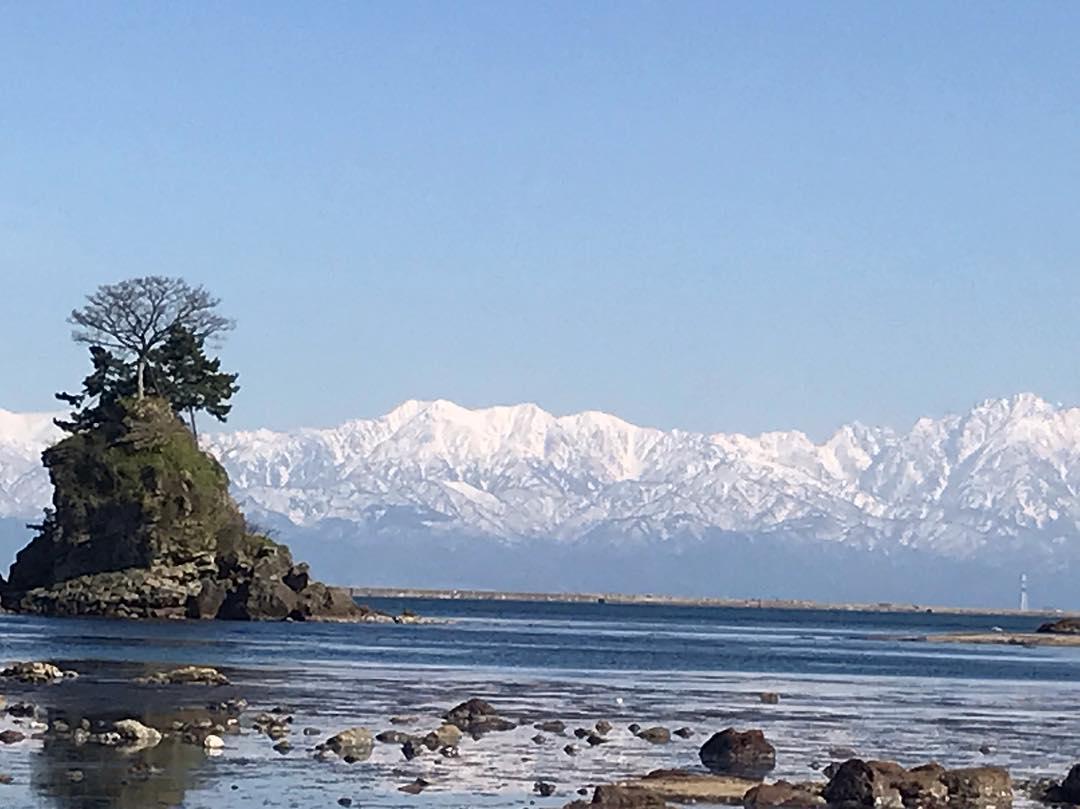 富山 海 ビーチ