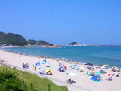 鳥取  海 ビーチ