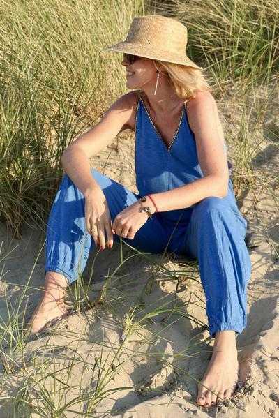 ヨーロッパで人気のビーチファッションブランドMon ange Louiseの新商品 EVERGREEN JUMPSUITの予約販売開始