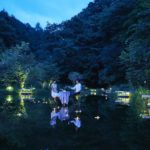 星のや軽井沢 森の営みを体感するケラ池の水上のパノラマ席「水鏡テラス」登場