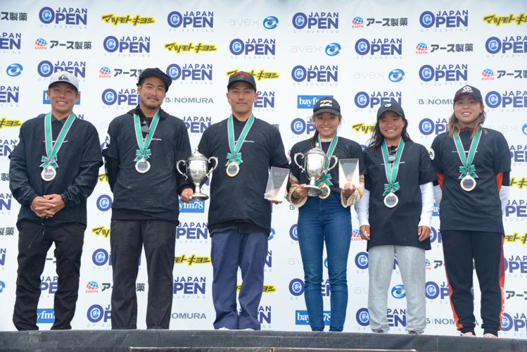 第1回 ジャパンオープン オブ サーフィンが閉幕、村上 舜選手と松田 詩野選手が大会を制し、 ISAワールドサーフィンゲームス出場資格を獲得