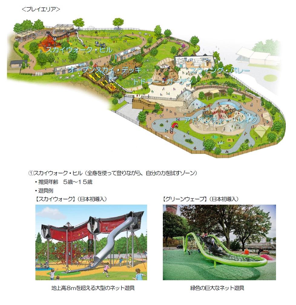 ~ボーネルンドプロデュースの屋外あそび場~ 生駒山上遊園地に「PLAY PEAK ITADAKI(プレイ ピーク イタダキ)」が新登場
