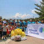 ジョンソンコントロールズ、富士山の環境保全学習および清掃活動を実施