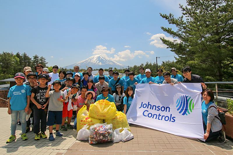 富士山の環境保全学習