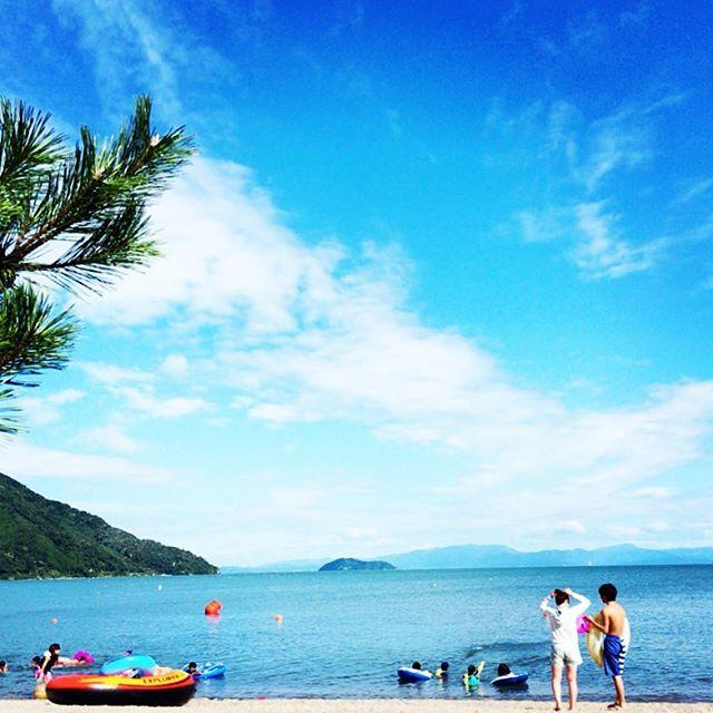 マキノサニービーチ高木浜 滋賀のおすすめ湖畔ビーチ