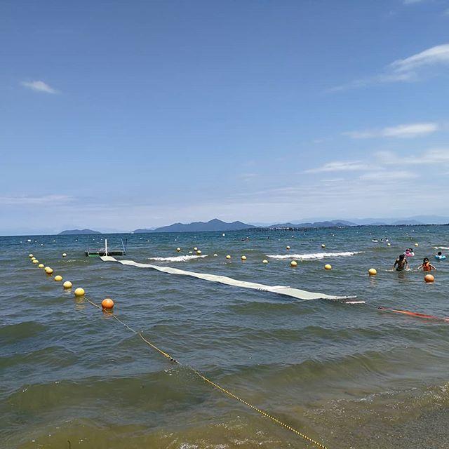 真野浜水泳場 滋賀のおすすめ湖畔ビーチ