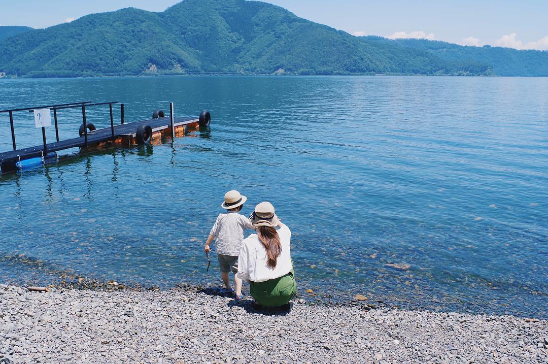 二本松キャンプ水泳場 滋賀のおすすめ湖畔ビーチ