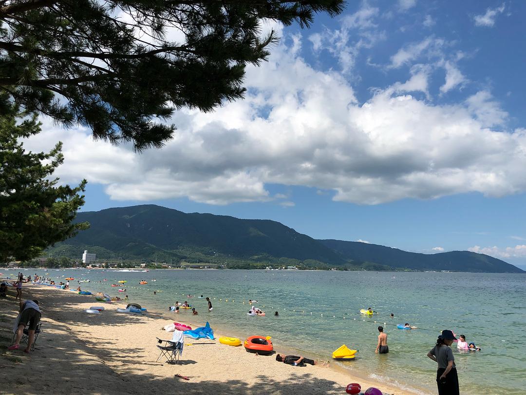 近江舞子水泳場 滋賀のおすすめ湖畔ビーチ