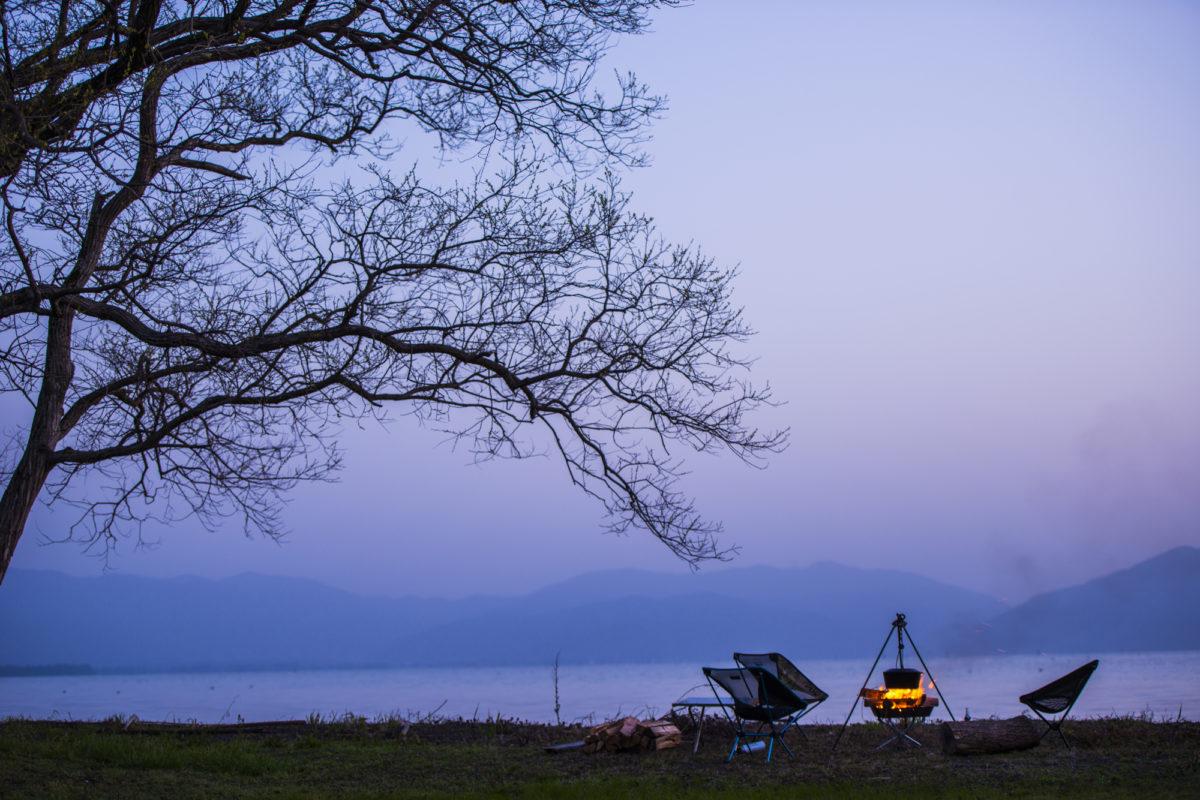 滋賀のおすすめ湖畔ビーチ キャンプ