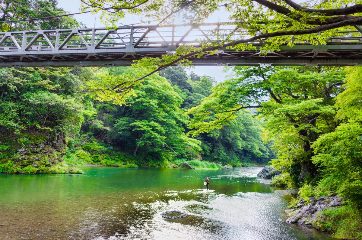 はじめての渓流釣り!初心者が渓流釣りを楽しむための服装はここに注意