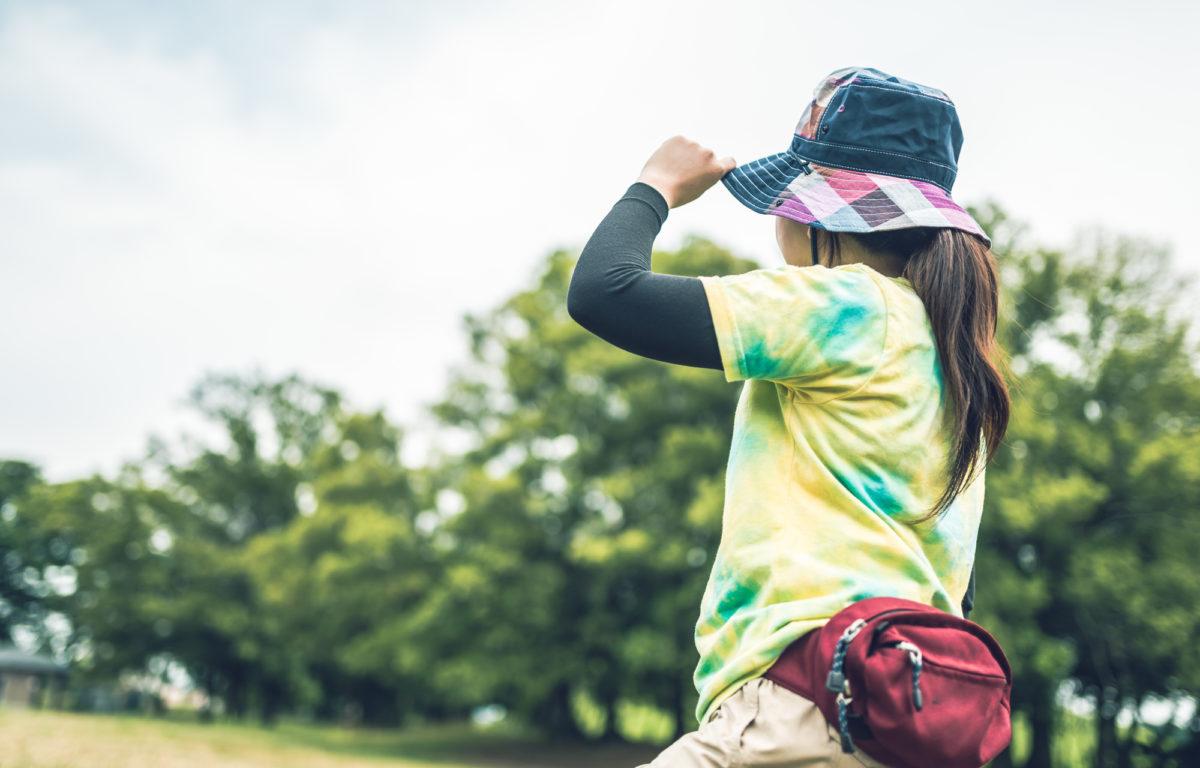 女子の渓流釣りの服装