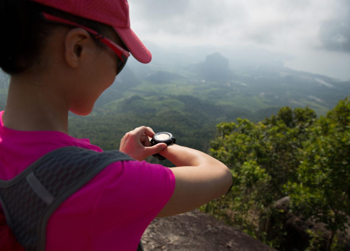 登山時計のGPS機能