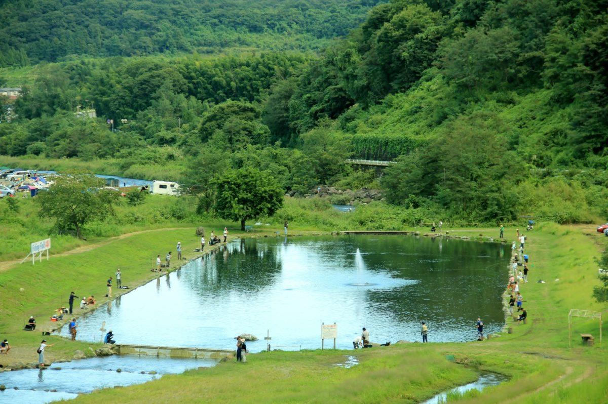 秋田の管理釣り場・釣り堀