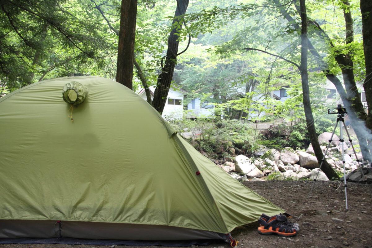 新戸キャンプ場 神奈川県 子連れ川遊び
