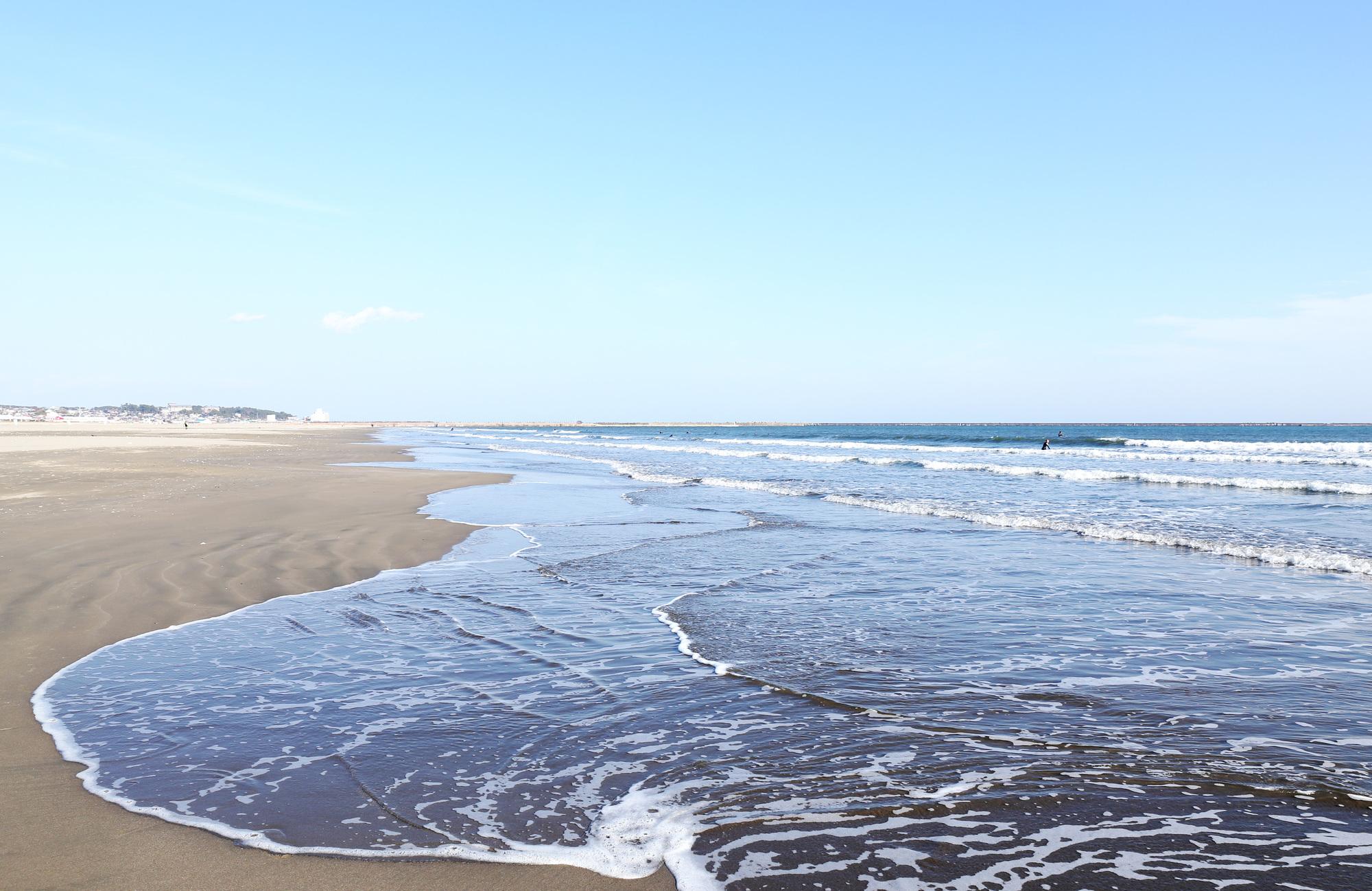 茨城は快水浴場百選の認定ビーチ