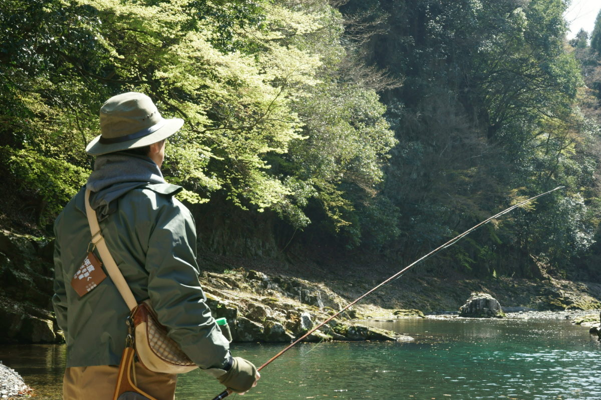 四国エリアの渓流釣り 管釣り