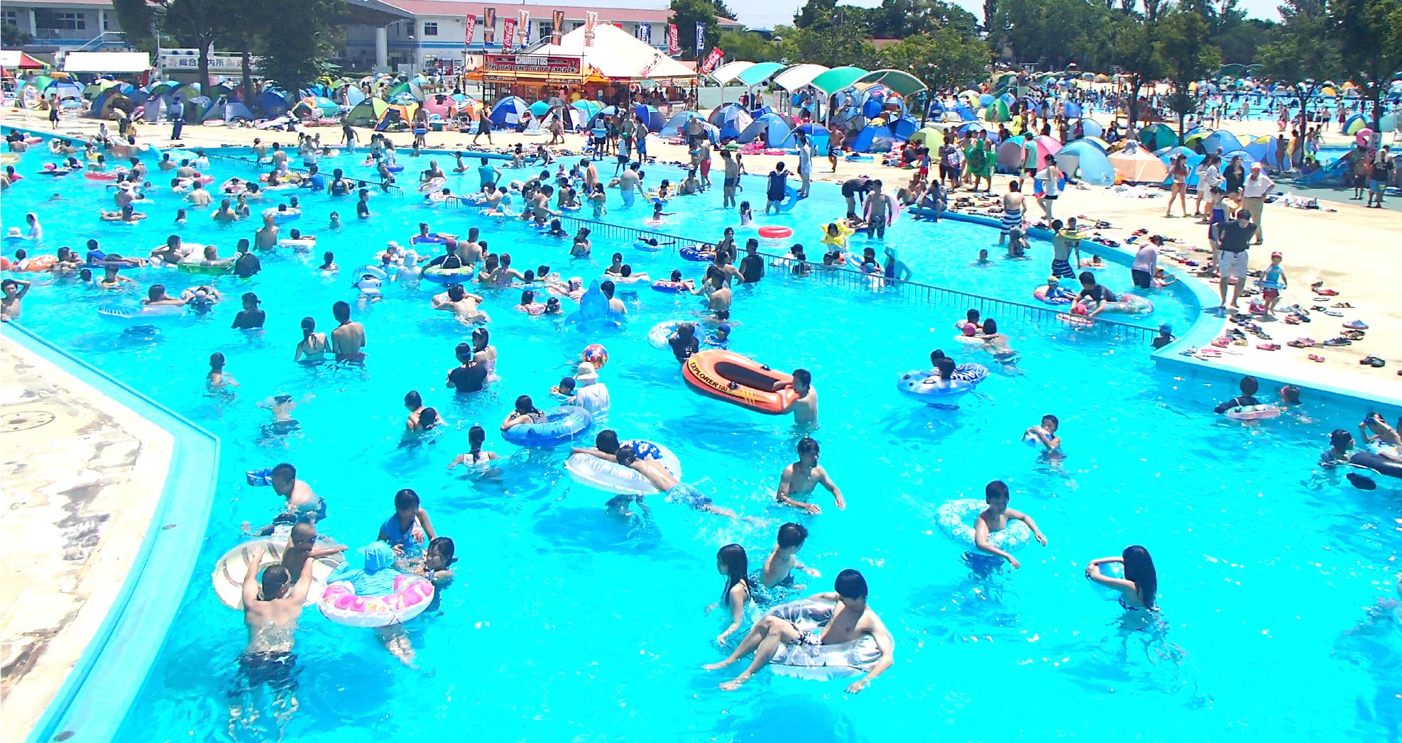 【さいたまの公園】夏はしらこばと水上公園のプールで遊びつくそう!