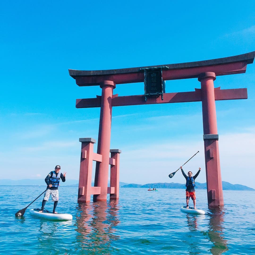 白ひげビーチ 滋賀のおすすめ湖畔ビーチ