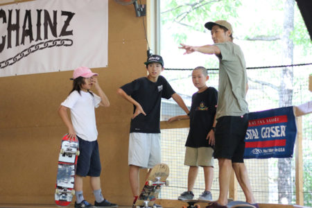ELEMENT スケートボードキャンプ