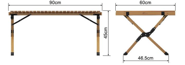 FIELDOOR(フィールドア)ローテーブル