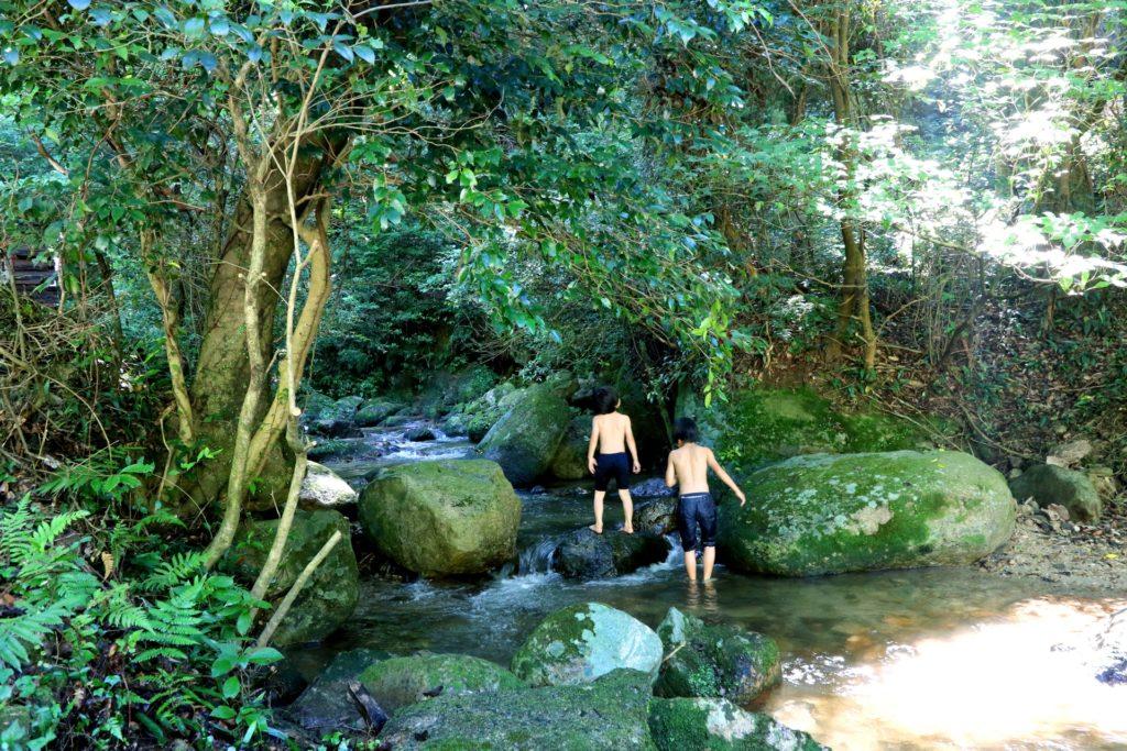 長崎県の川遊び