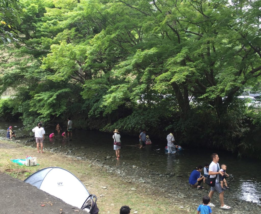 福岡 川遊び 夏休み