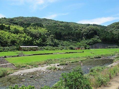 長崎 川遊び そとめ神浦川(こうのうらがわ)河川公園