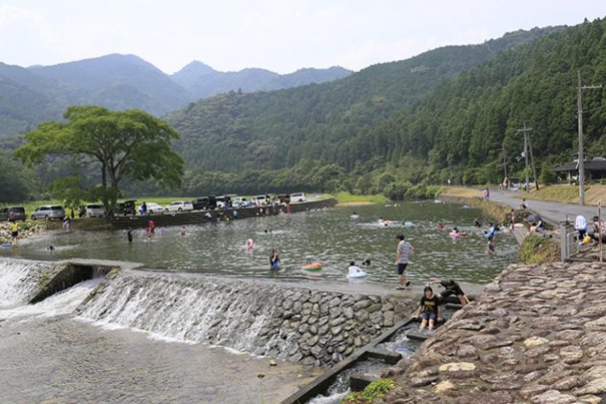 大里親水公園 三重 川遊び