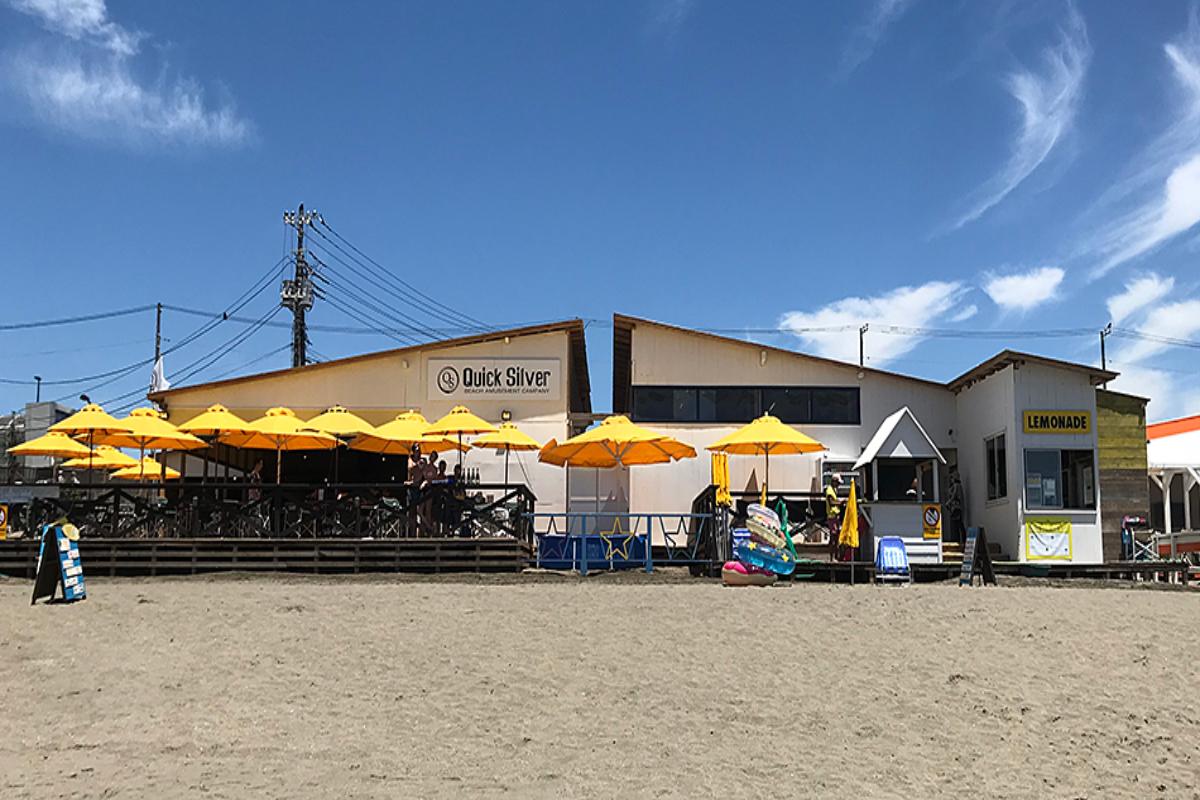 Quick Sliver 由比ヶ浜 ビーチ 海の家
