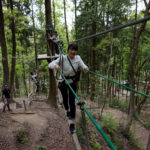 名古屋から1時間、岐阜県百年公園内に 森林活用型アドベンチャーパーク「冒険の森」がオープン
