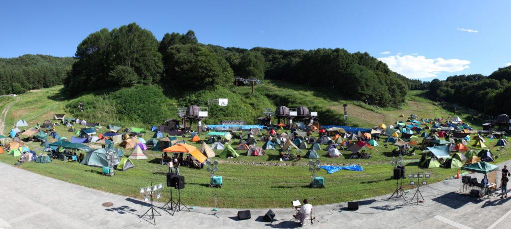 パラダキャンプ場が長野県佐久市に