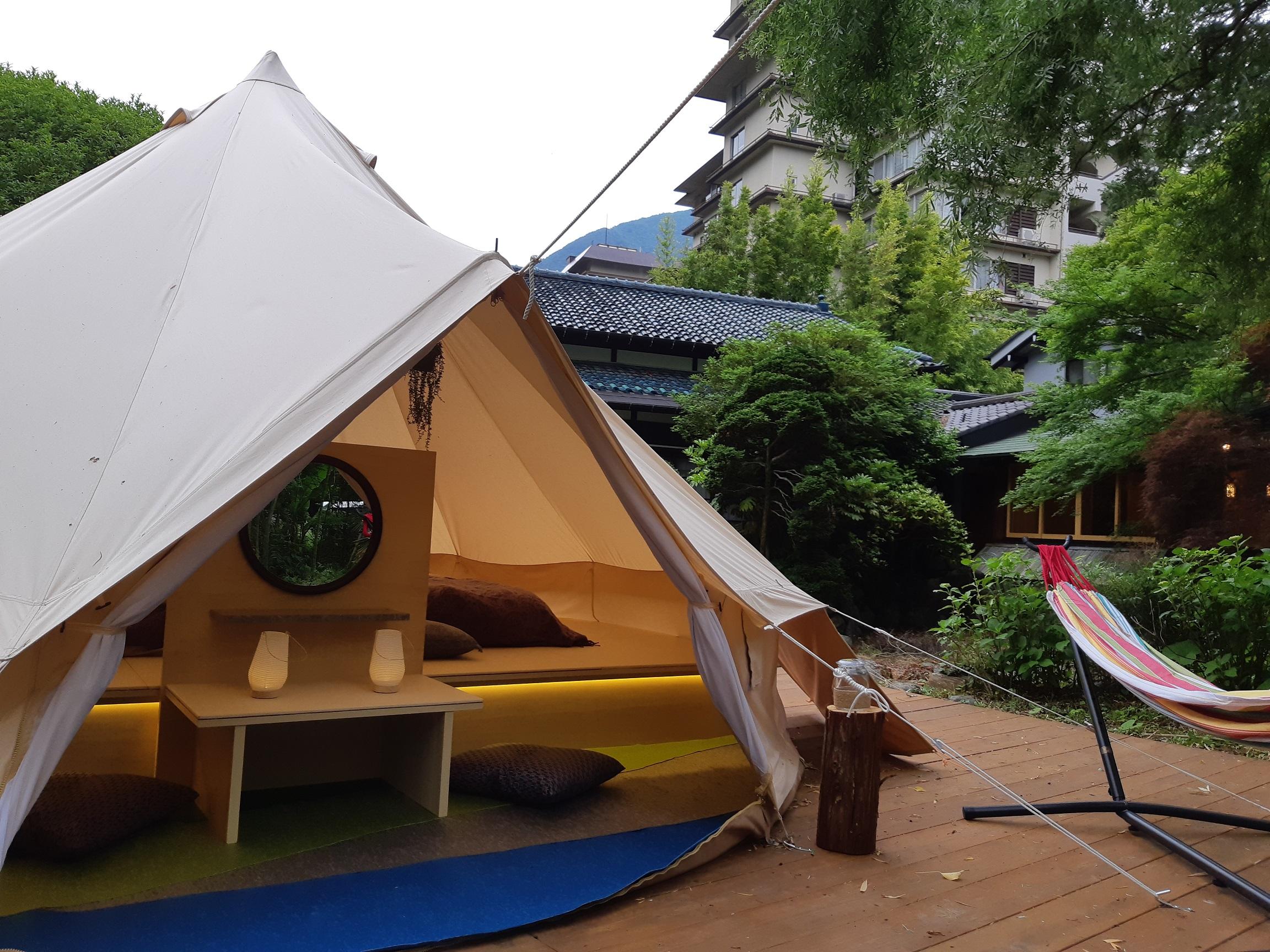 南山梨エリアで初!「和モダン×グランピング」の 1日1組限定 宿泊体験を期間限定で開始