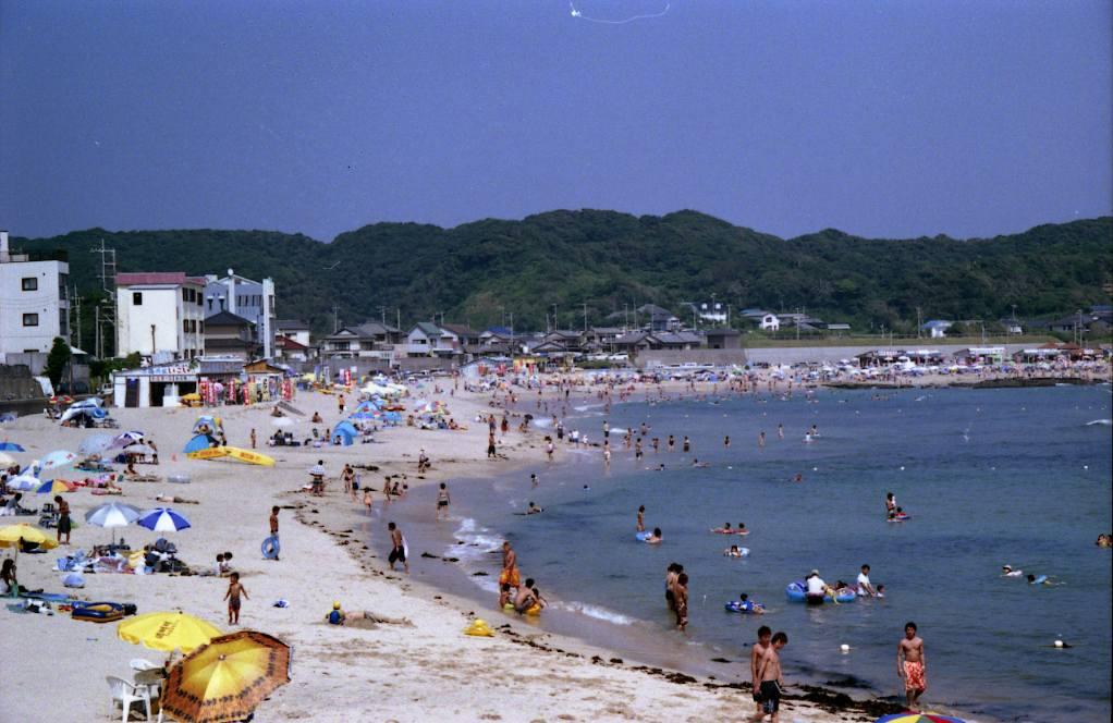守谷海水浴場(千葉)海開き 関東 海水浴