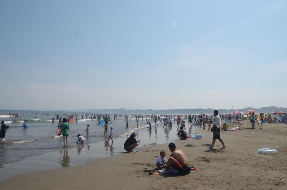 大洗サンビーチ 茨城の海水浴場